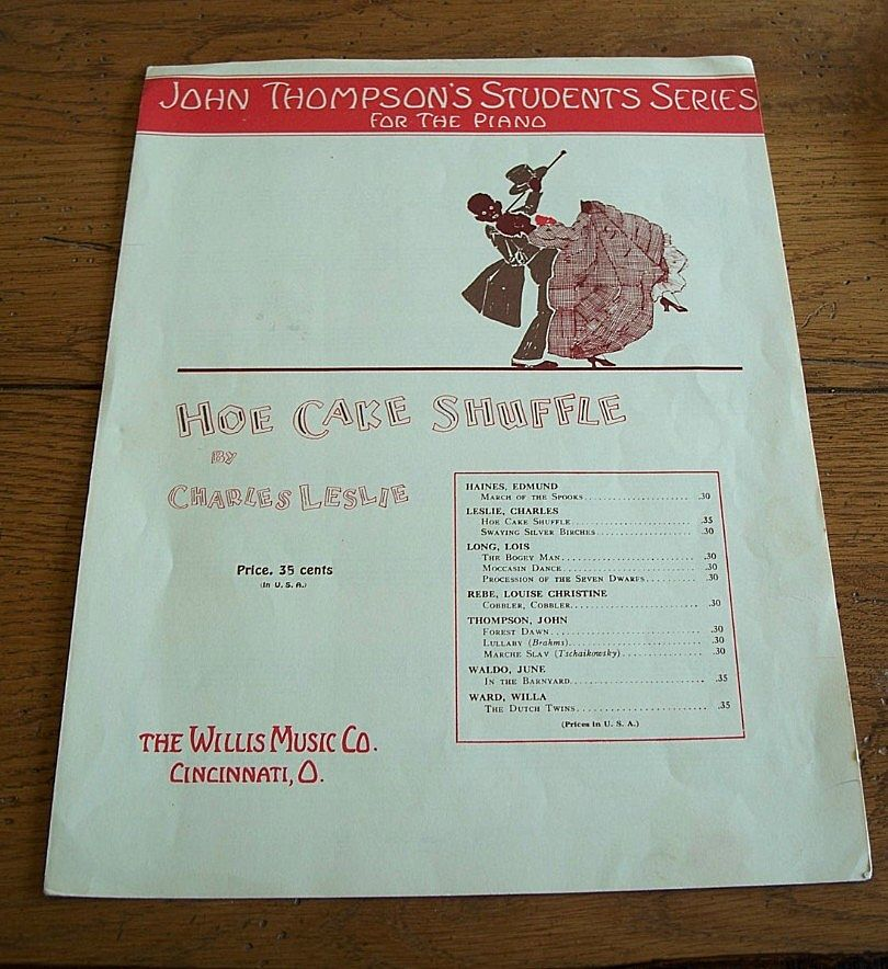 Hoe Cake Schuffle Sheet Music