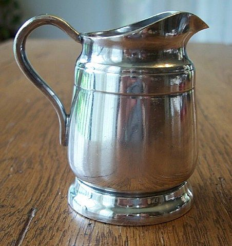 Silver Soldered Creamer by  Reed and Barton