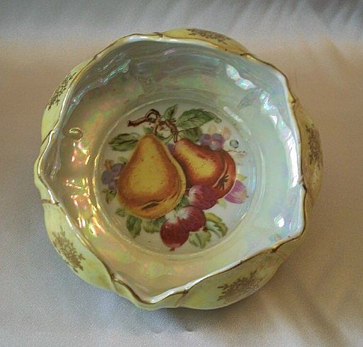 Japan Hand Painted Porcelain Bowl by Norleans