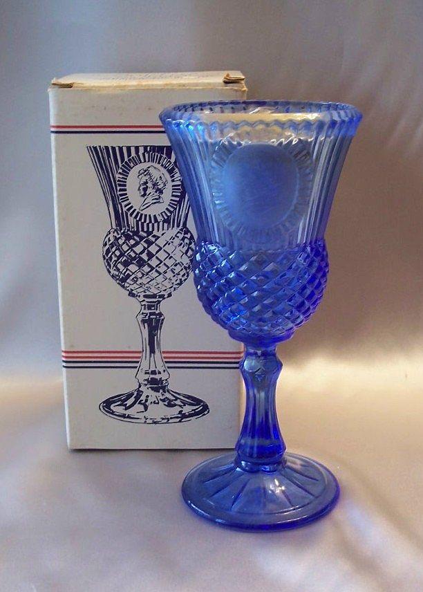 Avon The Martha Washington Goblet Fostoria Candle Holder