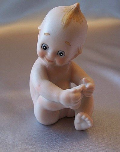 Porcelain Bisque Kewpie Figurine