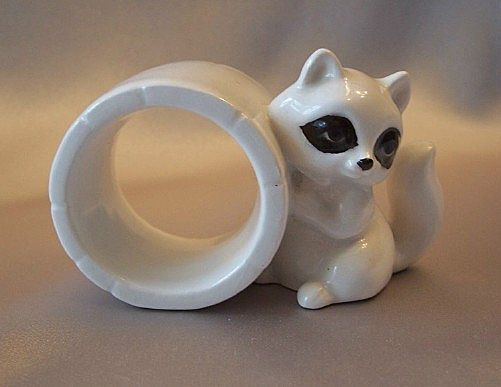 Raccoon Napkin Ring by Schmid Bros.