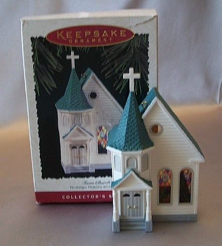 Hallmark Ornament Nostalgic Houses and Shop - Town Church