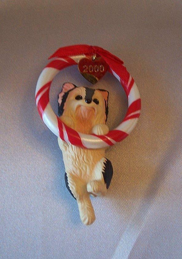 Hallmark Keepsake Ornament Puppy Love 2000