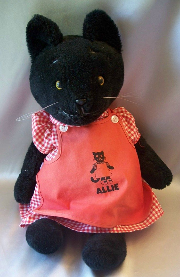 S S Happiness Crew Allie Stuffed Toy Cat 1979
