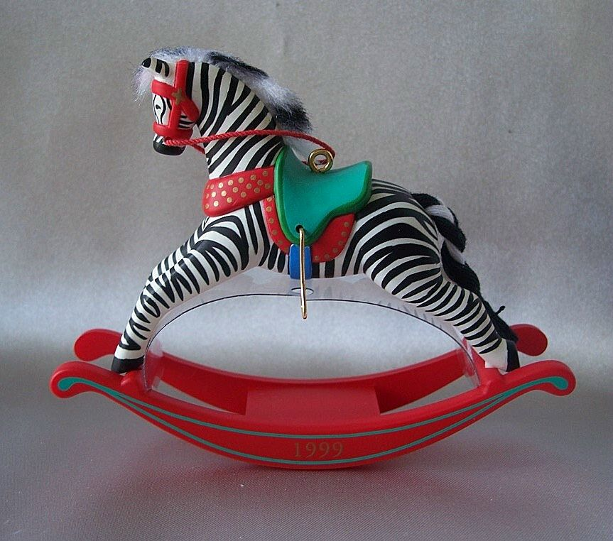 Hallmark Keepsake Christmas Ornament Zebra Fantasy