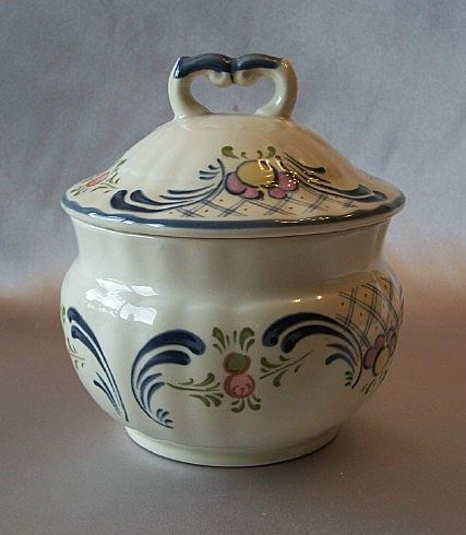 Mikasa Romance Sugar Bowl With Lid