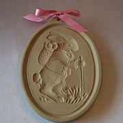 Brown Bag Cookie Art Easter Bunny