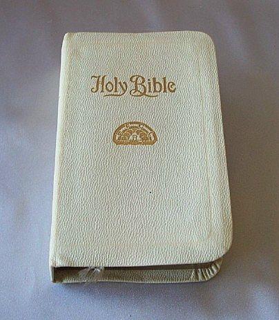 Vintage A. J. Holman Rainbow Bible