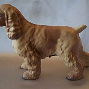 Hagen Renaker Cocker Spaniel  Dog Figurine