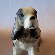 Cocker Spaniel Dog Figurine from Japan