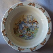 Royal Doulton Bunnykin's Child's Bowl
