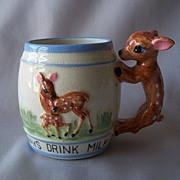 Deer Design Ceramic Child's Mug