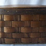 Basketville Vermont Hand Purse Basket