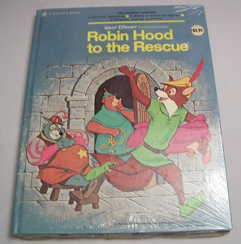 Robin Hood To The Rescue 1973 Unopen
