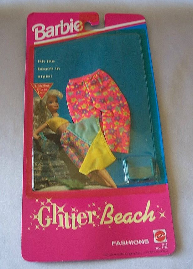 Barbie Fashion Glitter Beach #7778 1992