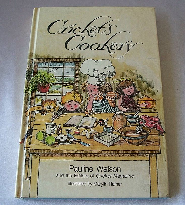 Crickets Cookery By Pauline Watson     Children Cookbook