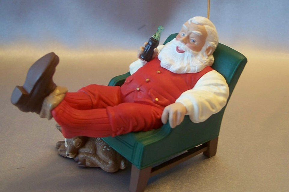 Hallmark Keepsake Ornament Coca Cola Santa
