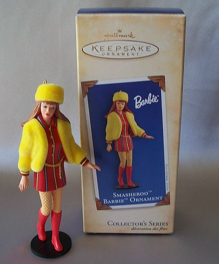 Hallmark Keepsake Ornament Smasheroo Barbie