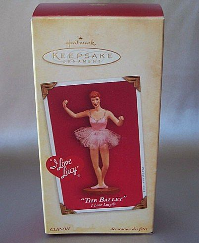 Hallmark Keepsake The Ballet I Love Lucy Ornament