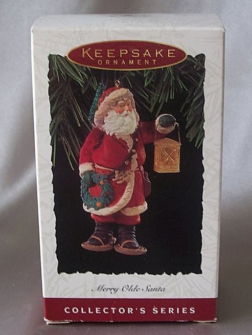 Hallmark Keepsake Merry Olde Santa Ornament 1994