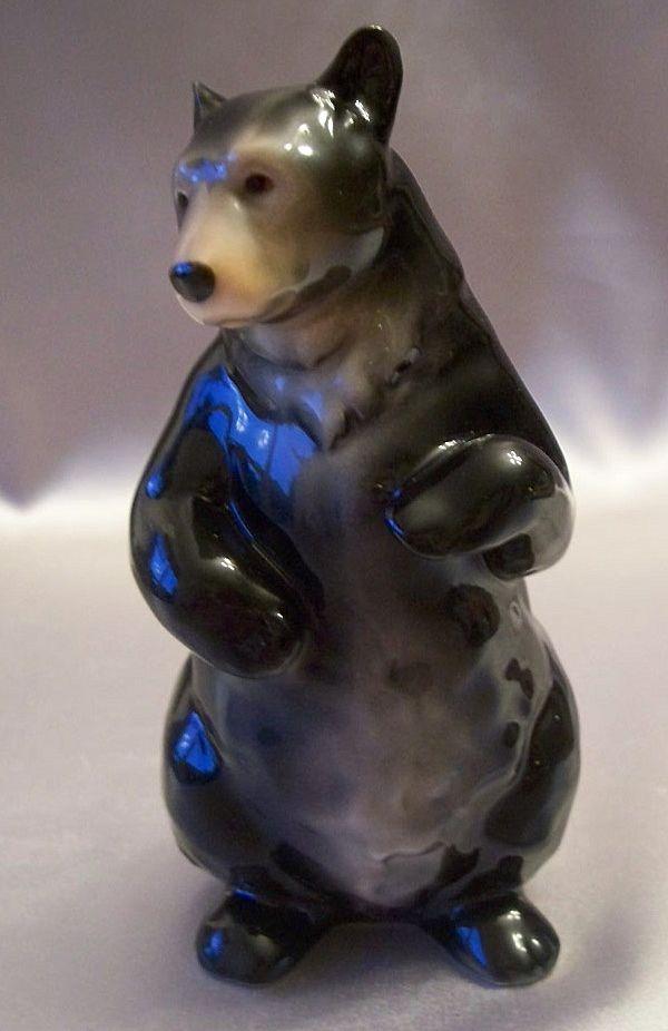 Franz Porcelain Standing Bear Figurine