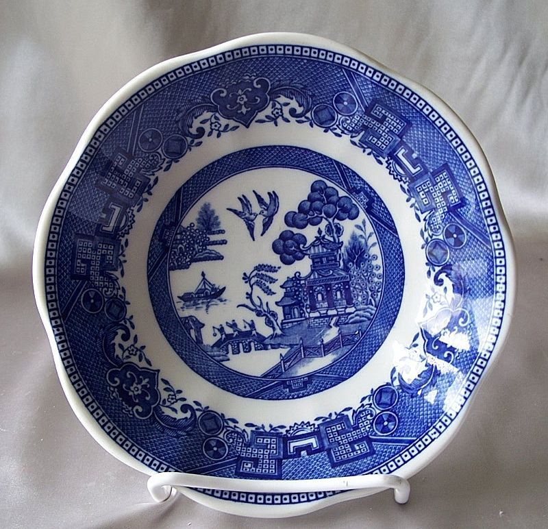 Shenango China Restaurant Blue Willow Dish