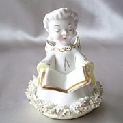 Pretty Vintage Ceramic Angel Figurine
