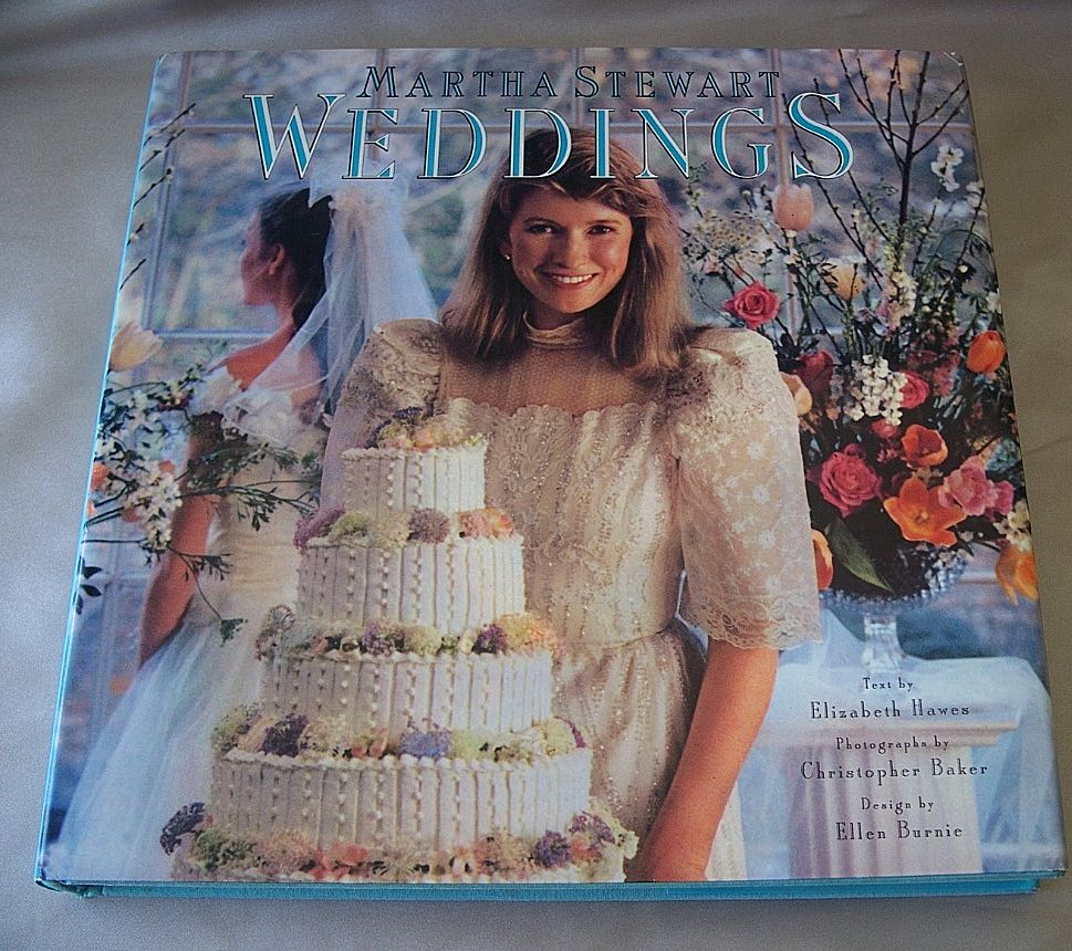 Wedding Book by Martha Stewart 1987