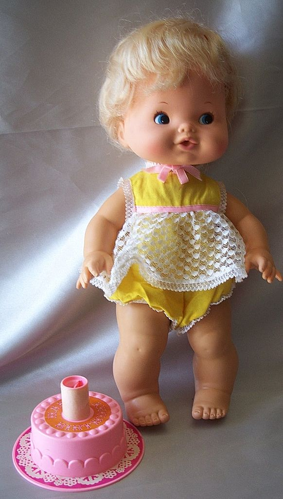 Happy Birthday Tender Love Doll Mattel