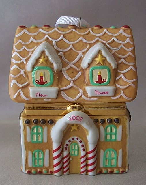 Hallmark Keepsake Ornament New Home Hinged Box