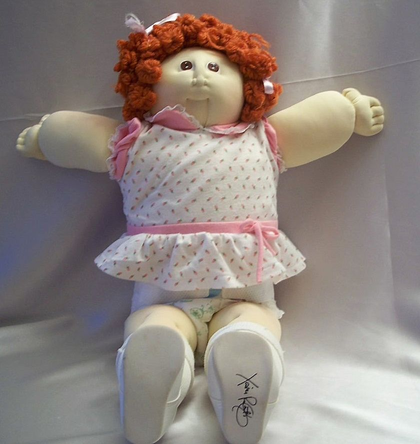 Cabbage Patch Little People  Doll Xavier Roberts 1985