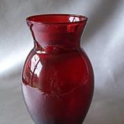 Anchor Hocking Royal Ruby Vase