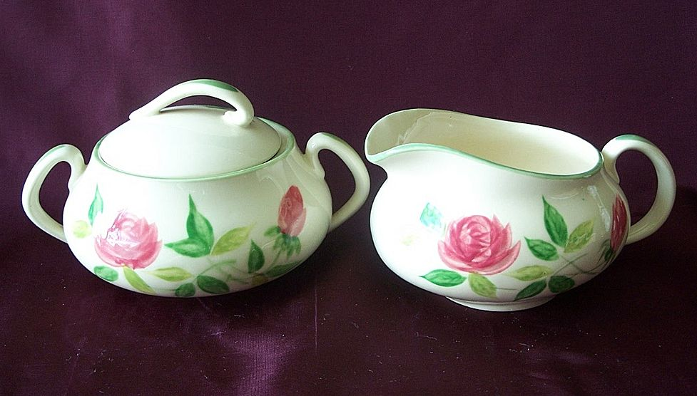 Maruta June Rose Sugar And Creamer Set