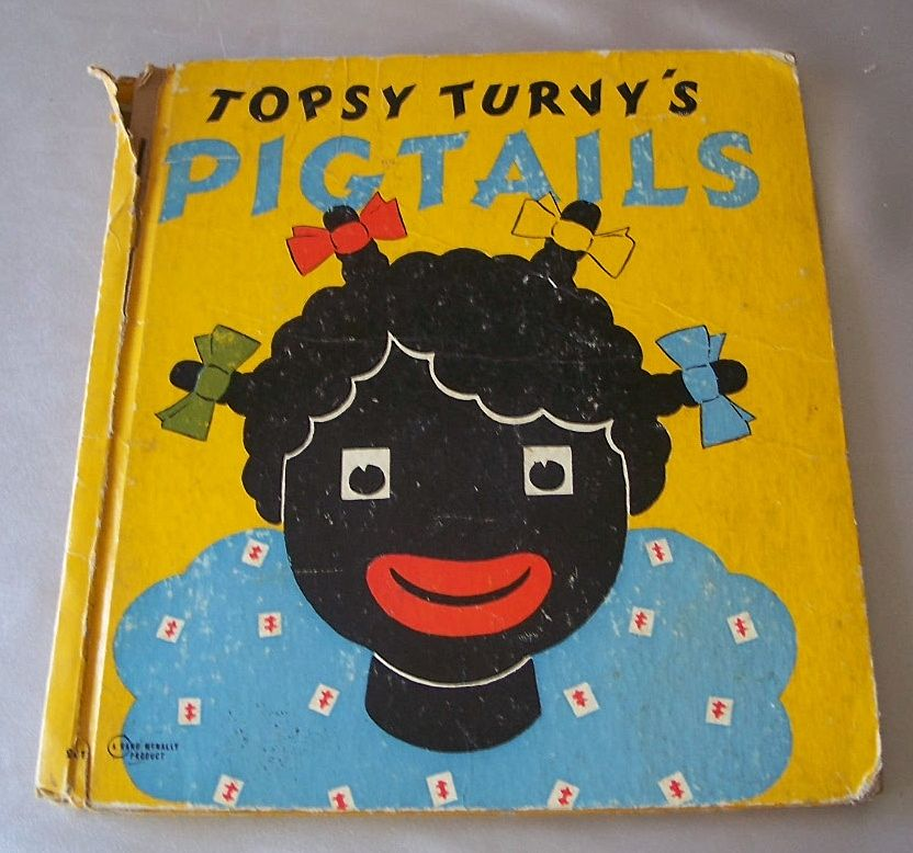 Topsy Turvy's Pigtails  By Bernice G Anderson