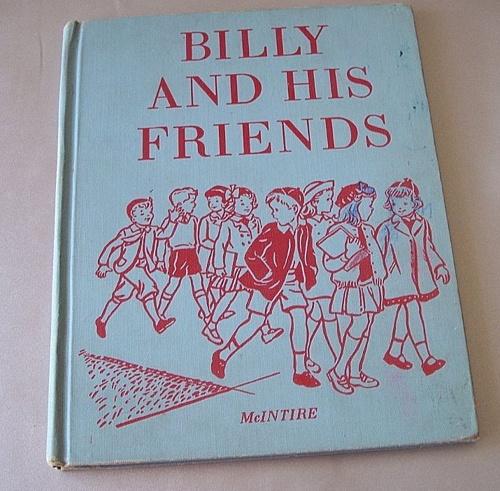 Billy And His Friends School Reader 1954