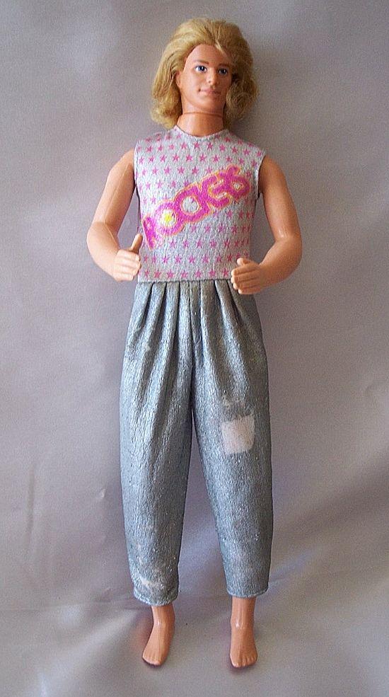 Mattel Ken Doll with Rooted Hair
