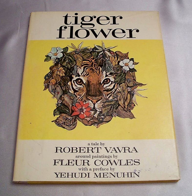 Tiger Flower By Robert Vavra  Fleur Cowles