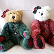Two Collectible Boyds Bears