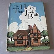 Vintage Children 's Book The House That Jack Built