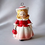 1988 Goebel Girl Figurine Christmas Ornament