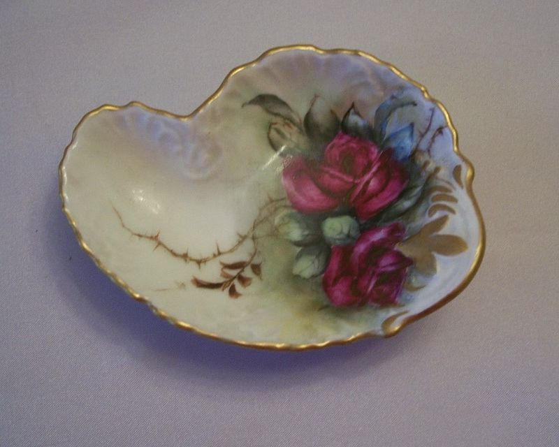 Limoges Nut Dish By Latrille Freres