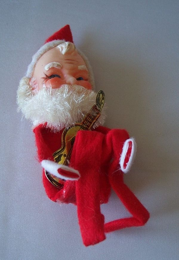 Santa Claus Knee Hugger Ornament