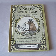 A Kiss For Little Bear By Else Holmelund Minarik - Red Tag Sale Item