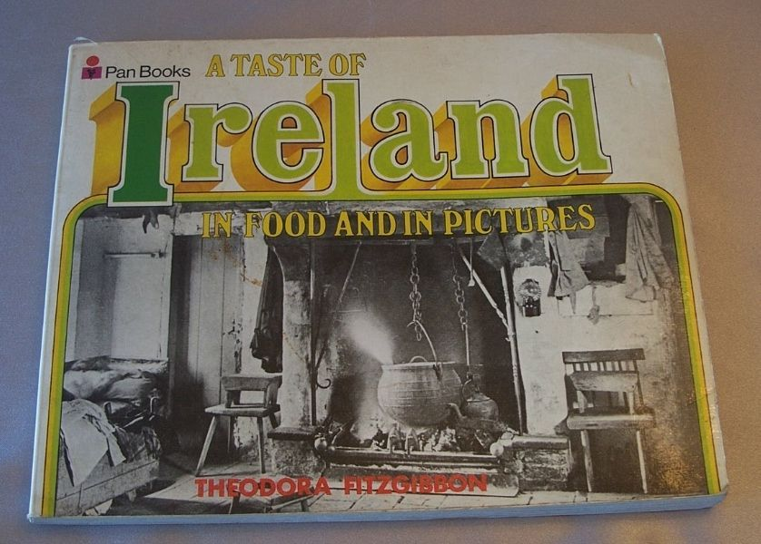 A Taste Of  Ireland In Food And In Picture Cookbook 1971