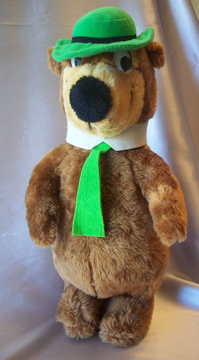 Hanna Barbera Stuffed Toy Yogi Bear 1980