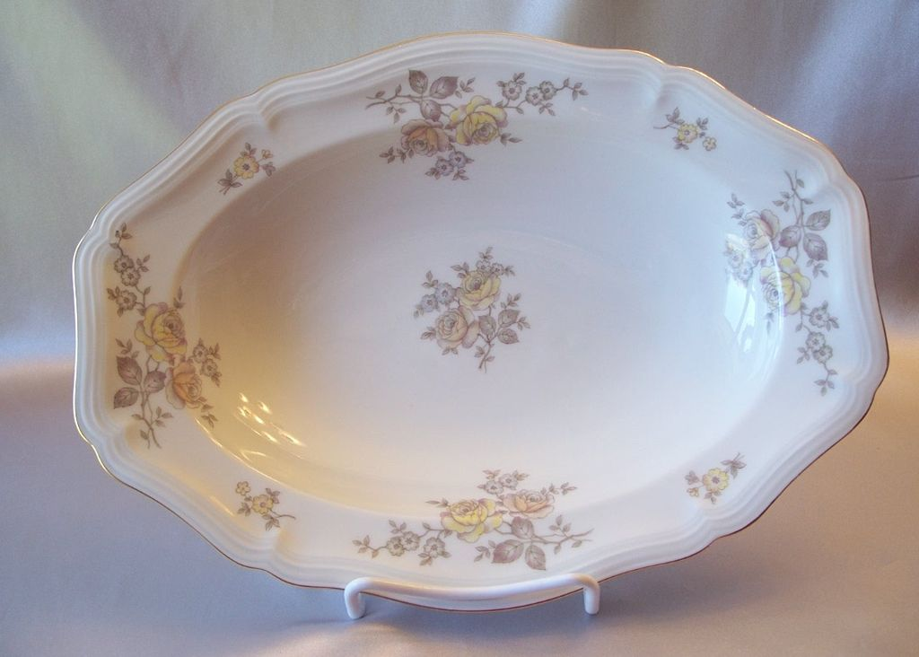 Johann Haviland Bavaria Germany Regency  Serving Bowl