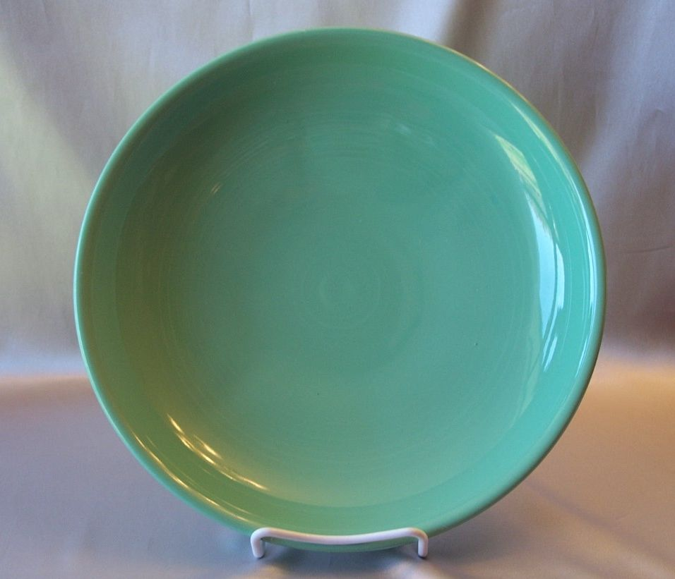 Fiesta Dinnerware  Green  Presentation  Bowl
