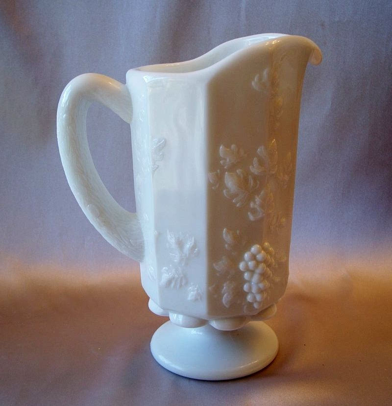 Westmoreland Paneled Grape Pitcher