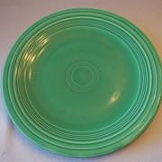 Fiesta Ware Green Dinner Plate